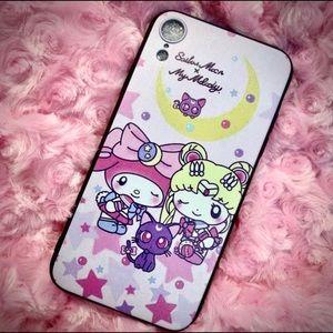 Cute Kawaii My Melody x Sailor Moon iPhone XR Case